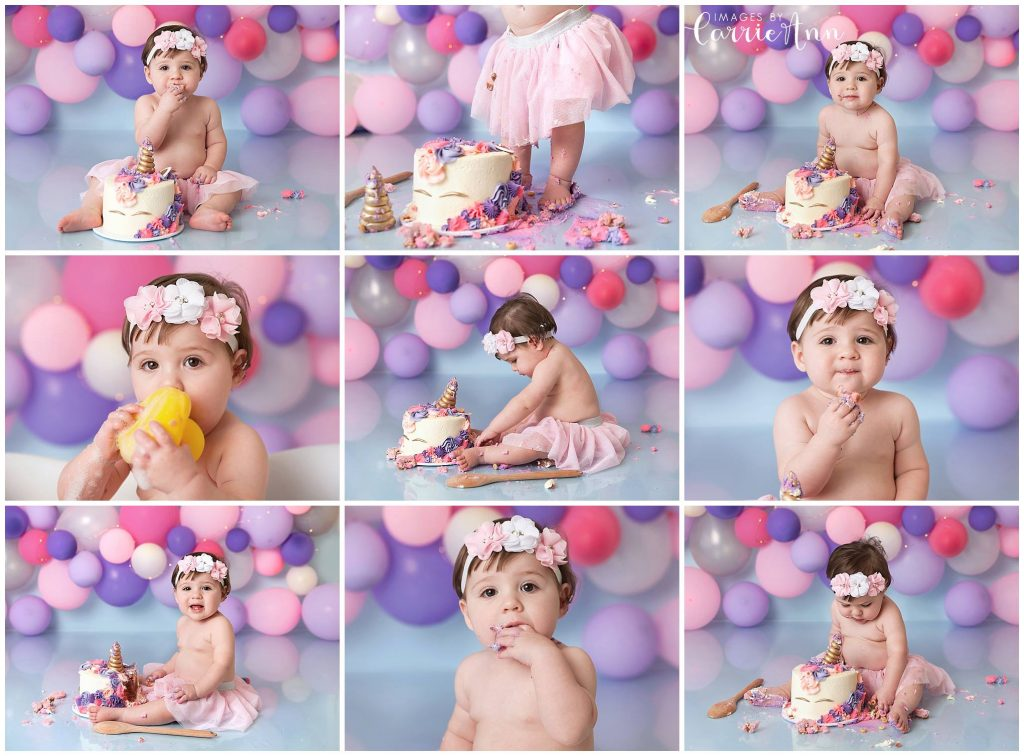 Images by Carrie Ann cake smash photographer brisbane